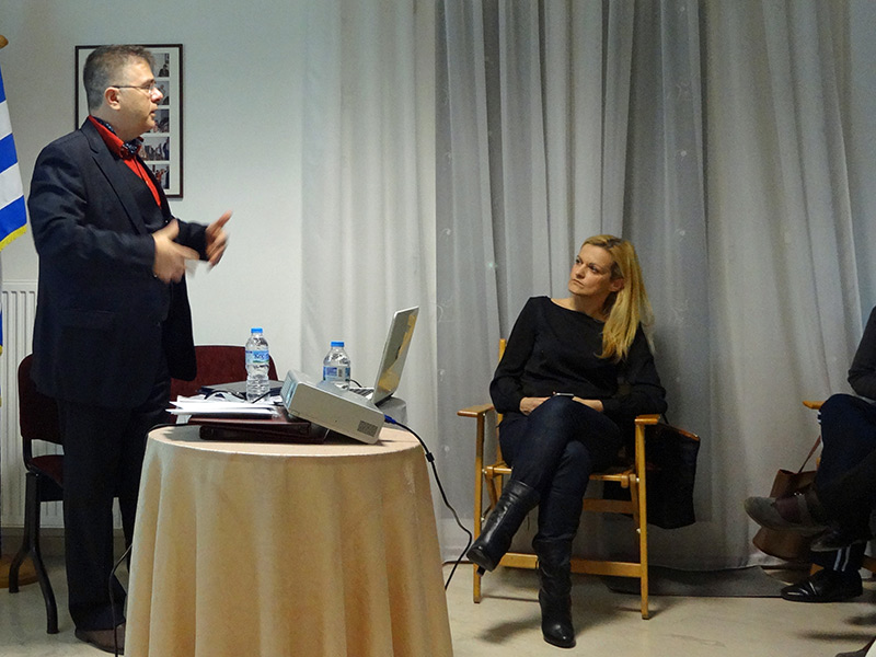 Lecture at The Cancer Patients' Association in Thessaloniki, Greece. November 2016